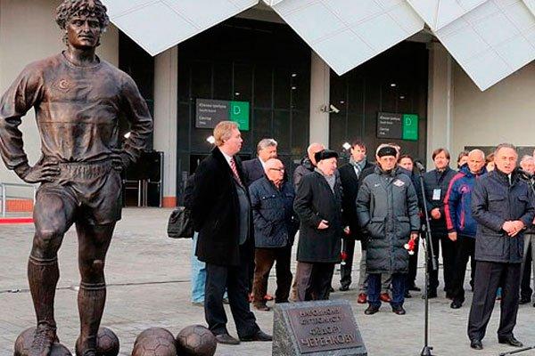 Открытие памятника Федору Черенкову