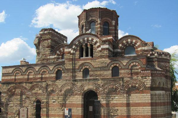Церковь Христа Пантократора, первая половина XIV в., Несебыр. Болгария.
