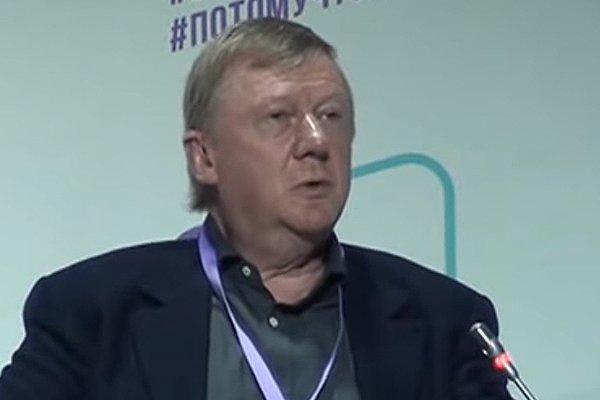 Генеральный директор «Роснано» Анатолий Чубайс