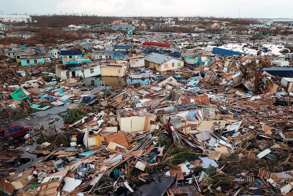 Последствия урагана Дориан