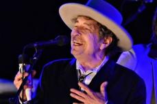 Американский музыкант Боб Дилан.