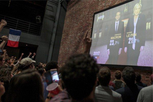 Президентские выборы воФранции: Макрон иЛеПен— вовтором туре