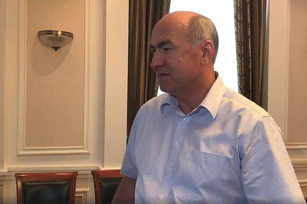 Мэр города Геленджика Виктор Хрестин