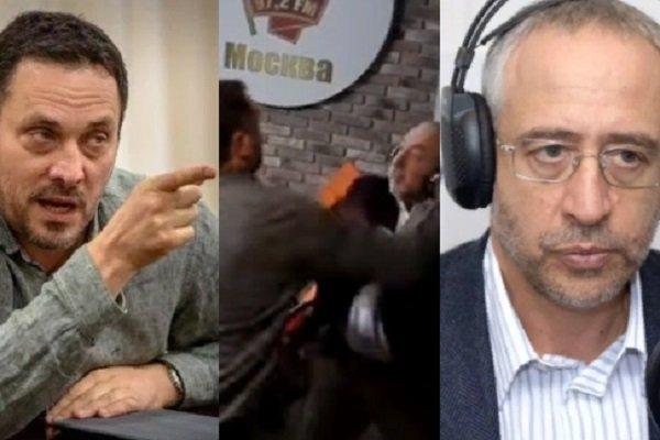 Драка Сванидзе и Шевченко