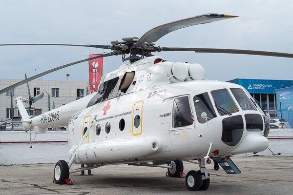 МИ-8АМТ средний вертолёт санитарной авиации