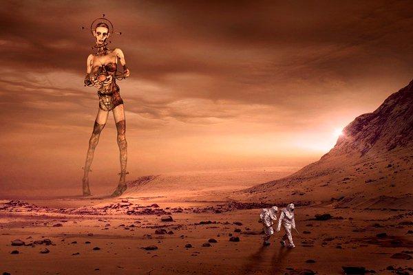 Фантастические жители Марса