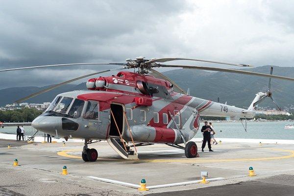Ми-8 АМТ - легендарный многоцелевой вертолёт