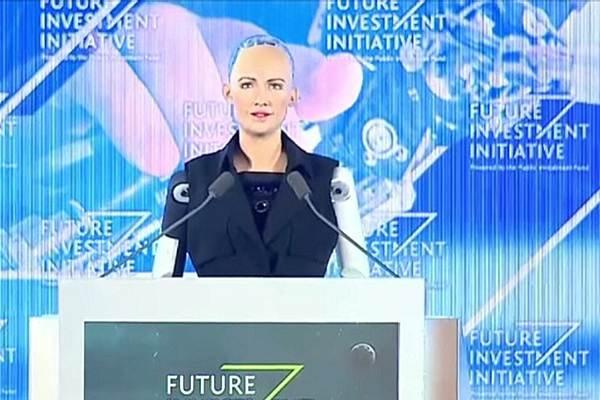 Первый робот-гражданин Саудовской Аравии София