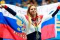 Юлия Ефимова завоевала серебряную медаль.
