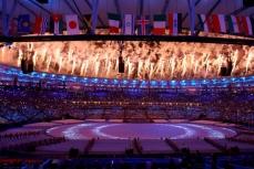 Закрытие олимпиады 2016 в Бразилии.