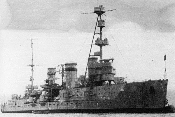 Лёгкий крейсер «Адмирал Нахимов», с 7 декабря 1922 «Червона Украина»