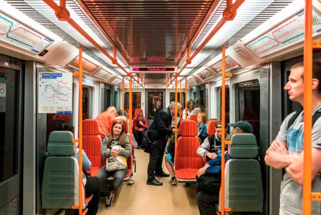 Общественный транспорт в Чехии