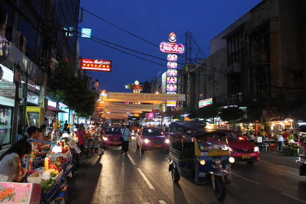 Чайнатаун в Бангкоке, Таиланд.