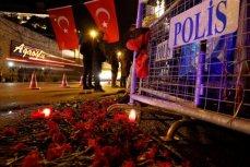 Стамбул, цвету возле ночного клуба Рейна.