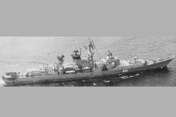 «Адмирал Нахимов» - советский большой противолодочный корабль (БПК) проекта 1134-А