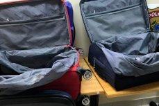 Чемоданы в которых провозились наркотики российским гражданином задержанным в Бразилии