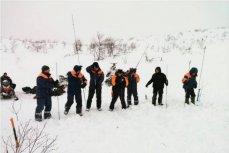 Поисково-спасательная операция в Хибинах, 22 января 2017.