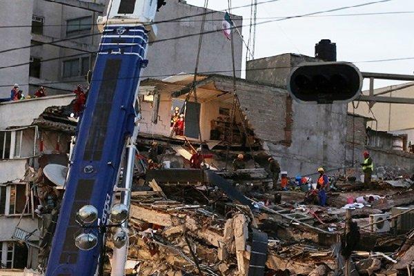 4-ое мощное землетрясение случилось уберегов Мексики