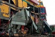 Землетрясение и цунами в городе Палу