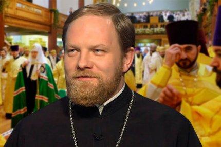 Пресс-секретарь патриарха Александр Волков