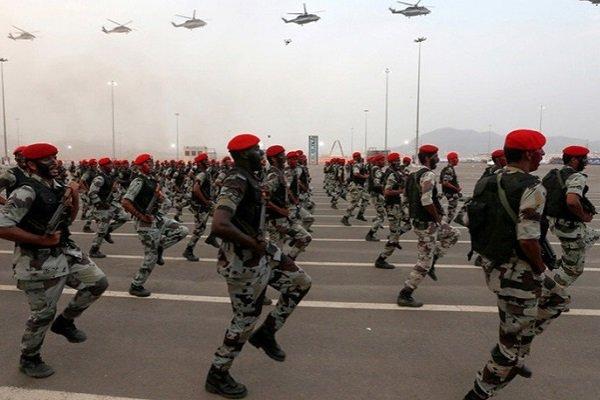 Солдаты армии Саудовской Аравии