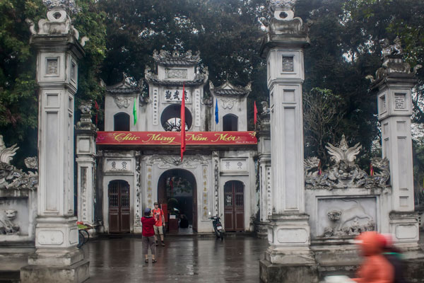 Храм Куан Тхань (Quan Thanh) в Ханое.