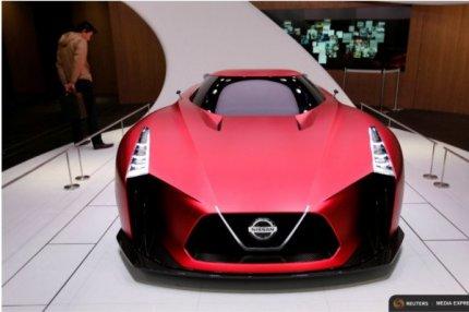 Nissan концепт-кар 2020 Vision Gran Turismo/