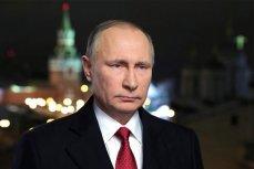 Владимир Путин на фоне Кремля.