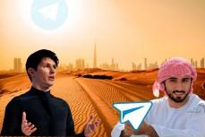 Наследный принц назвал Telegram Павла Дурова «дубайской компанией»