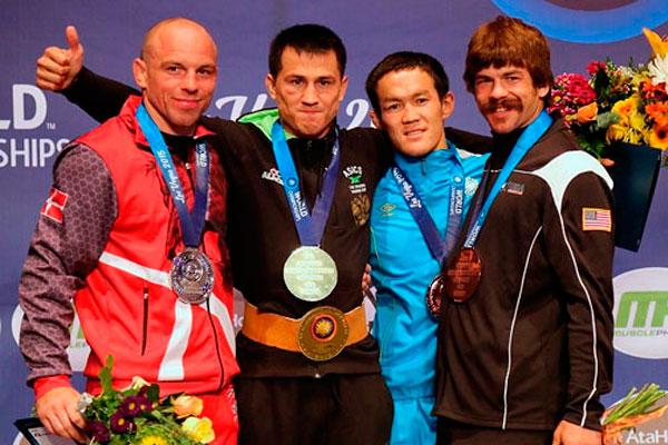 В понедельник, 7 сентября, в г. Лас-Вегасе (США) начался Чемпионат мира по спортивной борьбе