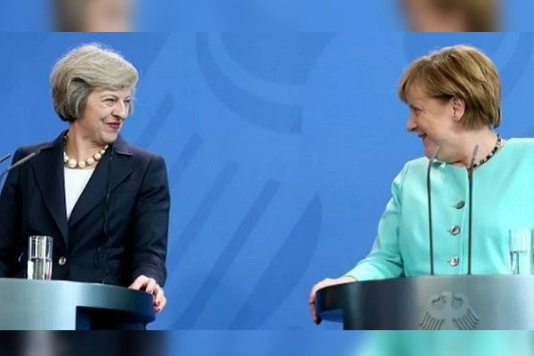 Меркель иМэй договорились «дружить против русской агрессии»