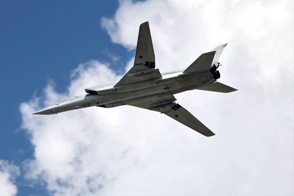 Полёт бомбардировщика Ту-22М3