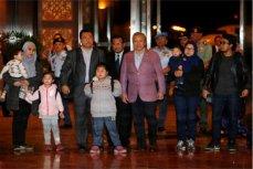 Группа граждан Малайзии прибыла в Куала-Лумпур.