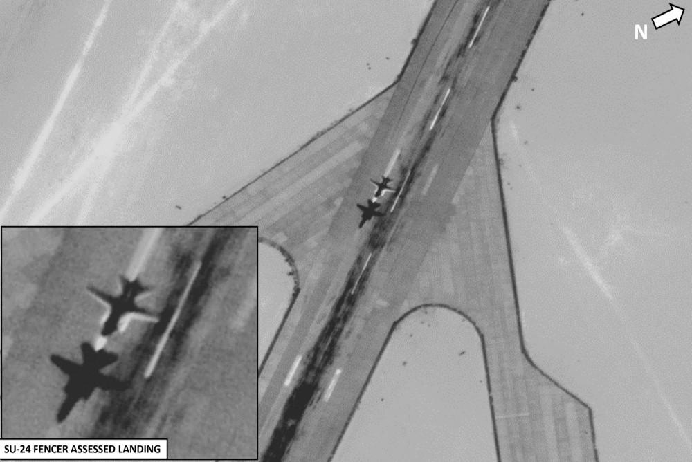 Снимки якобы российских самолетов в Ливии