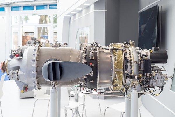 Авиационный двигатель на «Гидроавиасалоне-2018»