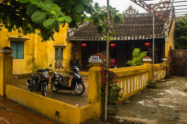 Архитектура города Хойан до колониальной эпохи. Вьетнам.