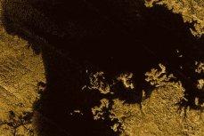 Море Лигеи на Титане. Изображение сделано зондом Кассини
