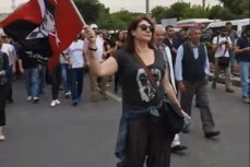 митинг в Стамбуле.