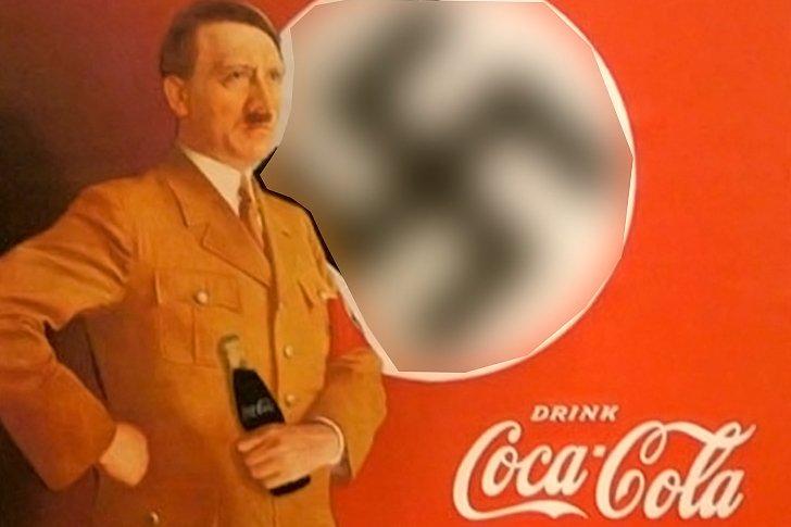 Coca-Cola - освежающий спонсор Гитлера