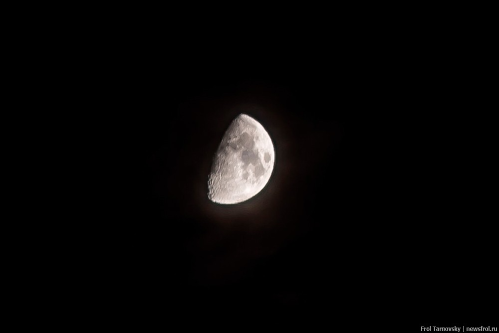 Луна над Геленджиком.