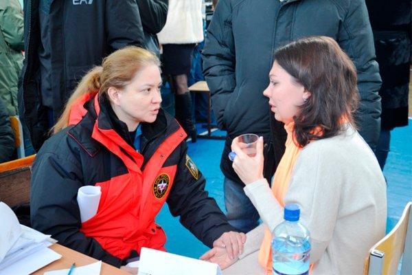 Оказывается психологическая помощь пострадавшим во время обрушения дома в Магнитогорске