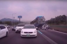 Авария в Южной Корее.